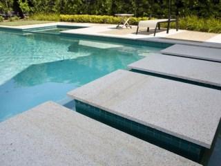 Urban series porcelain 654 granite in swimming pool area