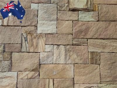 Colonial Ranch Australian sandstone cladding