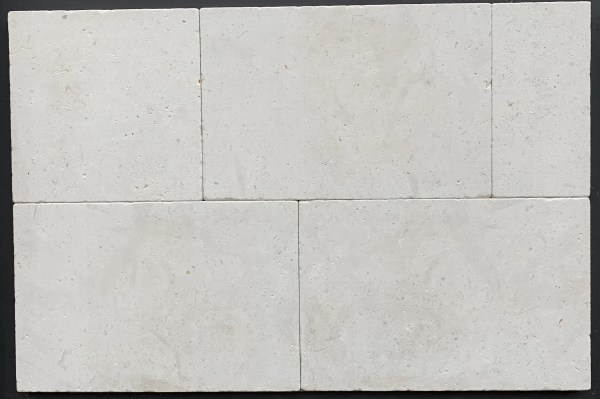 Tumbled limestone paving and tiling, Atlantic Beige