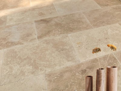 classic travertine tile and paver