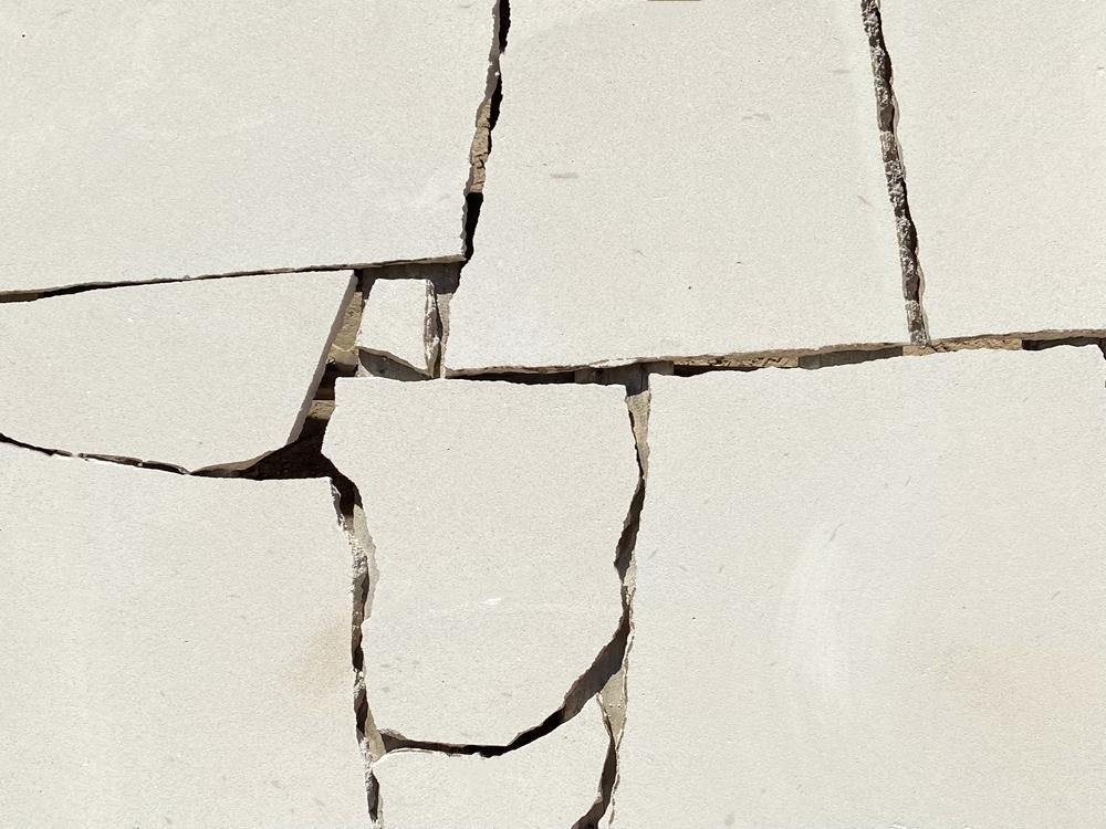 Australian White Sandstone Crazy Pave