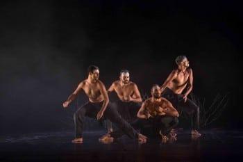 Bangarra Dance Theatre perform 'Spirit' at Vietnam's Hanoi Opera House - 2 March 2013 Photo: Roger Stonehouse