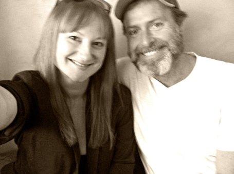 Marika Aubrey and Christopher Stollery
