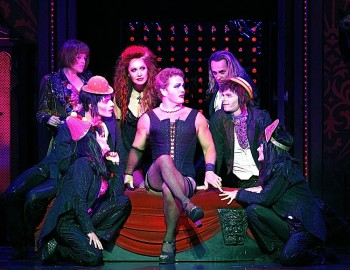 The Cast of The Rocky Horror Show. Image by Jeff Busby