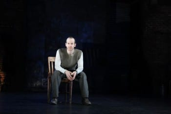 Denis O'Hare in An Iliad. Image by Joan Marcus