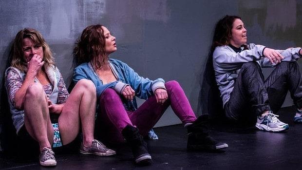 Shit. Nicci Wilkes, Peta Brady and Sarah Ward. Photo by Sebastian Bourges