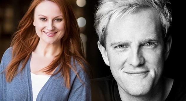 Marika Aubrey and James Millar star in Matilda The Musical