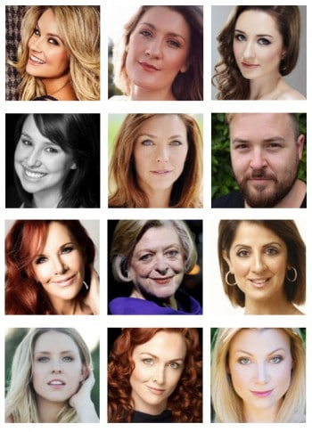 The Production Company's cast lineup for Jerry's Girls