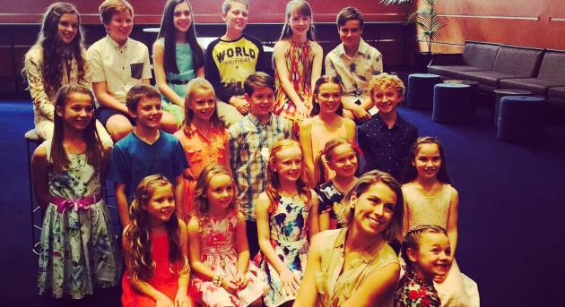 Sound of Music Sydney children. Image from @SoundofMusicAu Instagram