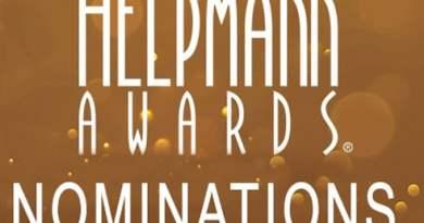 Helpmann Awards Nominations 2016