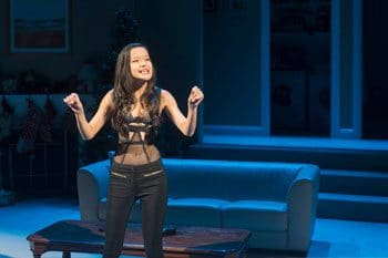 Merlynn Tong in Straight White Male. Image: Kate Pardey.