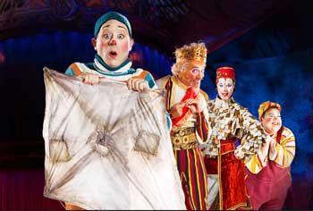 Kooza - Cirque du Soleil. Image supplied.