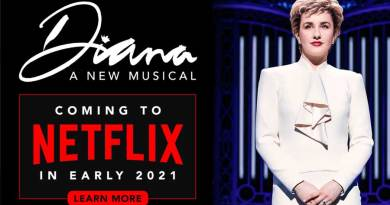 DIANA: A NEW MUSICAL will premiere on Netflix ahead of its 2021 Broadway opening