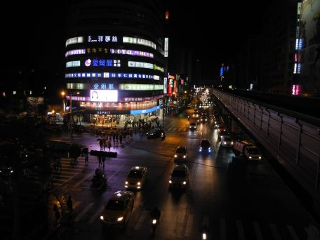Taipei bei Nacht