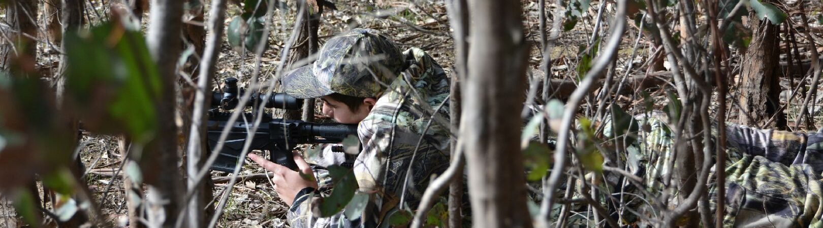 Austealth Australian Camo - Hunting in the Australian bush.
