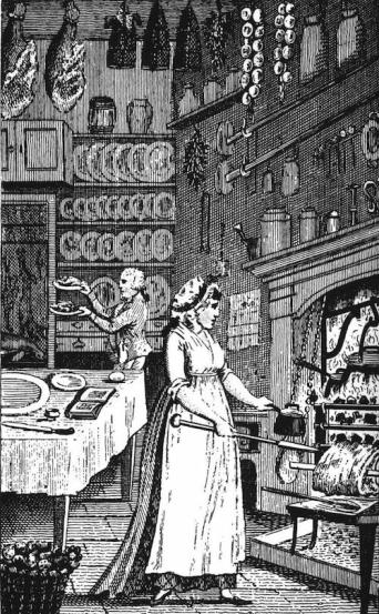 18th-century-kitchen-servants-prepare-a-meal