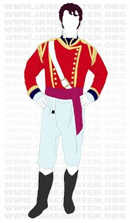 Wickham's costume https://sites.google. com/site/ whshbljaneausten/ the-military- presence-in-pride -and-prejudice