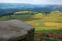 "Els famosos ""moors""; prop de Stanage Edge; Derbyshire. Autor: Oscar Cortés."