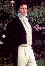 A more flattering view of Colin Firth as Mr. Darcy, (1995)