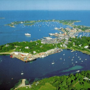 Woods Hole aerial view