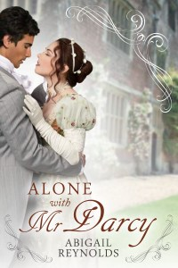 Alone with Mr Darcy Cover EBOOK low res