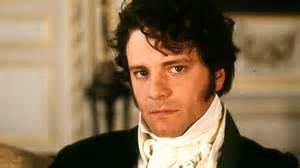 Mr. Darcy glares