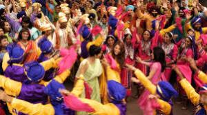 "A dance from ""Bride and Prejudice"""