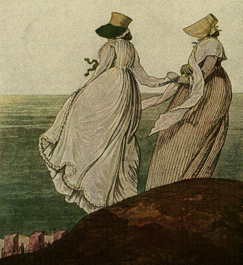 au au seaside dress 1797 nicholas heideloff gallery of fashion