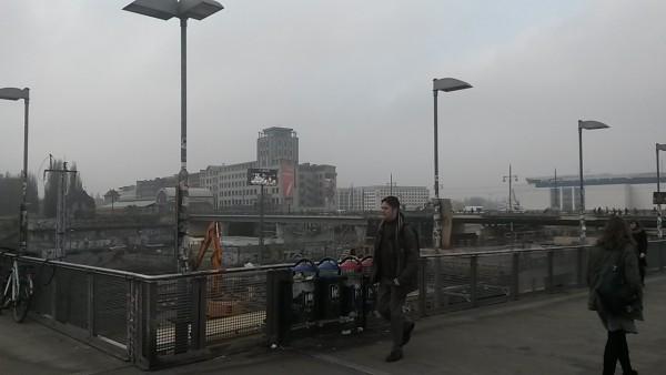 Warschauer Straße Weg zur U-Bahn