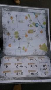 Umgebungskarte mit den Aufgaben