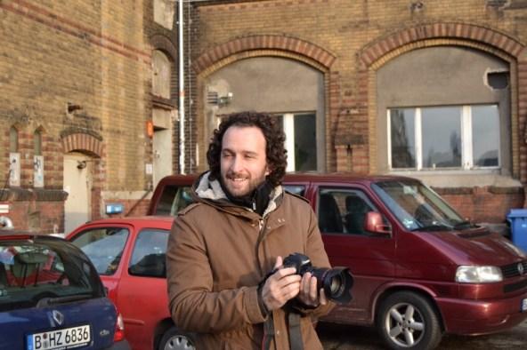 """Fotograf und unser """"Lehrer"""" Roberto Garcia Hermosilla"""