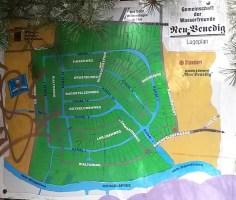 Kanalkarte von Neu-Venig