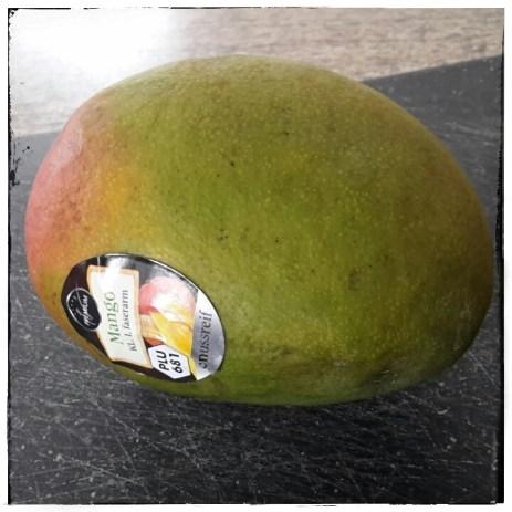 Am Anfang war das Ei, also die Mango ;-)