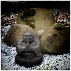 Mein Buddha betet für einen nicht so kalten Winter - Danke ;-)