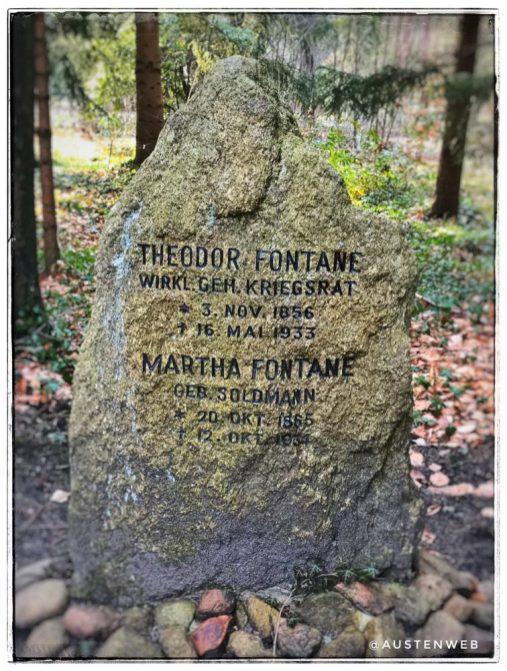 Südwestkirchhof - Fontane