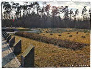 Italienischer Soldatenfriedhof - Gräberfeld