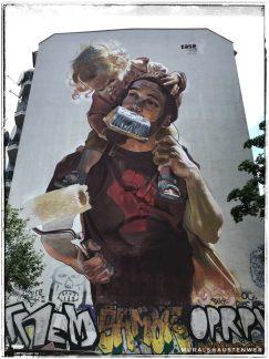 Berlin Mural Festival - Schinestraße