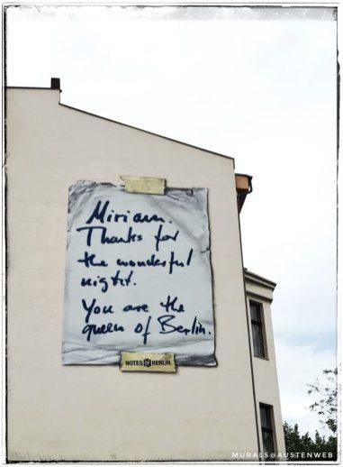 Berlin Mural Festival - Wilhelmstraße