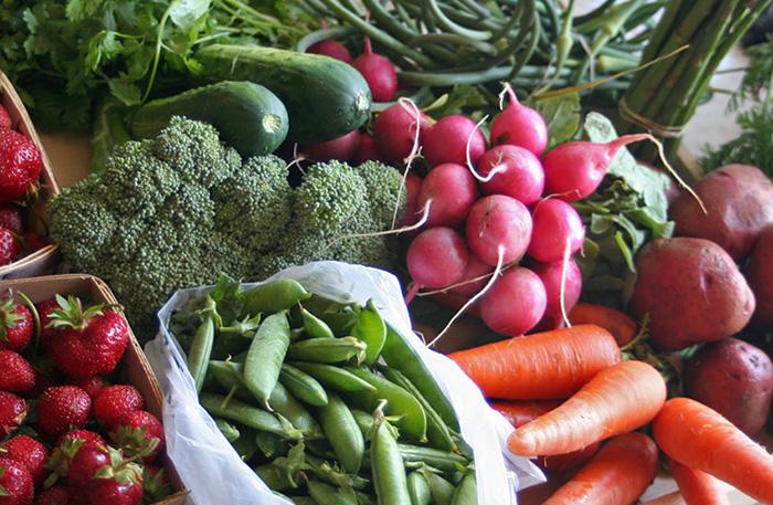 fresh vegetables farmers market local produce farm organic farmer