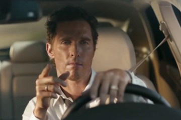 Matthew McConaughey in a new Austin-themed ad for the Lincoln MKC.