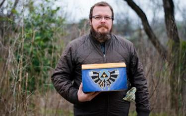 This Street Artist Creates Legit Zelda Artifacts And Hides Them Around Austin