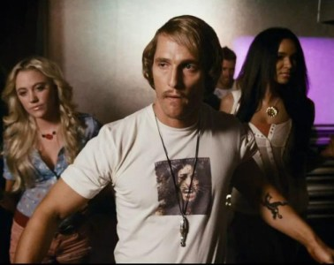"Matthew McConaughey in ""Dazed and Confused."""