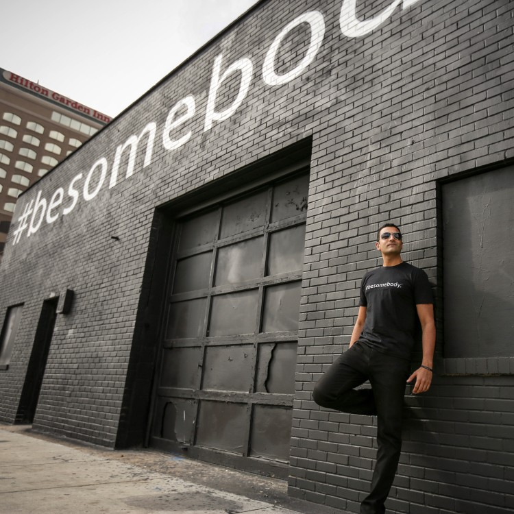 Kash Shaikh. Photo: Courtesy, #BeSomebody.