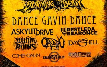 ALL STARS TOUR 2015 featuring Upon A Burning Body and more!