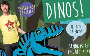 Flying Theater Machine presents Dinos!