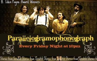 PGraph Presents Parallelogramophonograph and Austin/Austin.