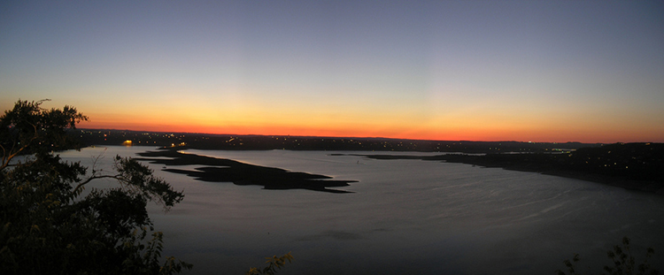 lake-travis-austin-panoramic-panorama-sunset