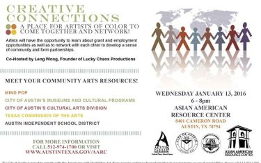 Creative Connections: Networking Artists of Color Reception