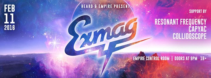 The Future Funk Reunion Exmag Capyac Resonant Frequency Collidoscope Feb 11 At Empire