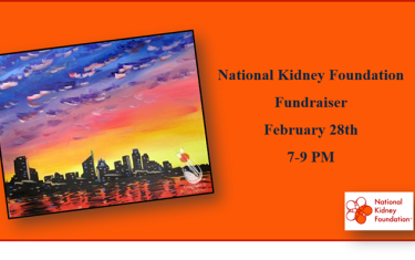 National Kidney Foundation Fundraiser!